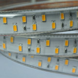 Het dubbele LEIDENE van de Lijn van de Rij 110V 230V 120LEDs/M IP67 Dubbele Licht van de Strook