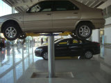 One Post Car Wash Lift com Air Power