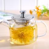 370ml耐熱性ホウケイ酸塩ガラスの茶鍋