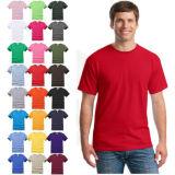 Coton personnalisé de gros de bonne qualité d'hommes T Shirt vêtements avec de l'impression Livraison rapide