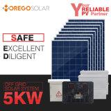 Het Zonnestelsel van Moregosolar 5kw van Net met het Comité van de Zonne-energie & Omschakelaar & Controlemechanisme