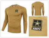 4개의 색깔 Esdy 전술상 훈련 긴 소매 옥외 열 내복