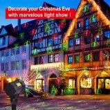 交換可能な18のパターンが付いているレーザーのクリスマスの照明