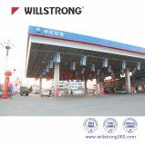 Forme décorative de panneau de Shopfront pliant le panneau composé en aluminium de Willstrong