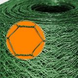 電流を通されたHexagonaの金網の網ワイヤー網