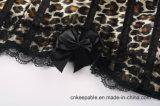 Großhandelsspitze Shapewear Karosserien-dünneres Leopard-Taillen-Kursleiter-Korsett