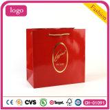 Rojo de la moda Ver bolsa, bolsa de papel de regalo, ver la bolsa de papel