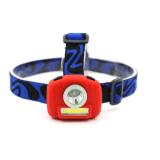 3 modes d'un mini projecteur Voyant LED+s/n Faire pivoter la tête de lampe