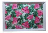 Высокое качество печати оптовой пластиковые дешевые пользовательская версия пластину на ужин