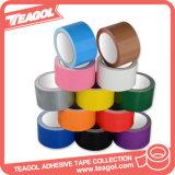 Verde de la OPP cara cinta adhesiva de tela, cintas de tela