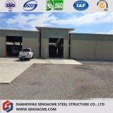 최신 판매 저가 큰 경간 Prefabricated 강철 구조물 창고