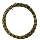 De zwarte en Gele drie-Kern Nylon Draad van de Trekker van de Kabel