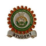 Forme de coupe personnalisée de l'or de l'École d'un insigne pour la promotion des dons (YB-LY-B-09)