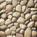 3D de baldosas pulidas piedras
