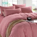 Coperchio poco costoso del Duvet della casa di prezzi dell'assegno del cotone della camera da letto