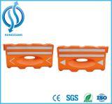 Barreira de segurança reflexiva resistente plástica do tráfego