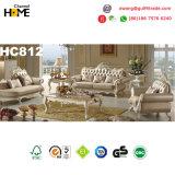 Insieme europeo del sofà 1+2+3 del tessuto della mobilia antica (HC812)