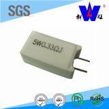 Rgg 20W de cerámica encajona el resistor variable de la herida del alambre