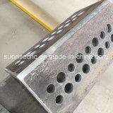 角度の鋼鉄のためのフライス盤