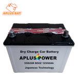 Armazenamento recarregável 55D26R N50z 12V 60ah bateria de carro de chumbo-ácido