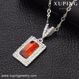 43106 afrikanische Schmucksache-Kristalle Swarovski von der weißen Steinschmucksache-Halskette