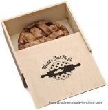 فطيرة خشبيّة صندوق فطيرة [جفت بوإكس] خشبيّة لأنّ مضيفة