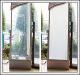 높은 투명도를 가진 지능적인 자동 접착 유리제 필름