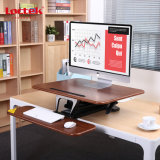 "Loctek 26 "" 넓은 플래트홈 고도 조정가능한 서 있는 책상 라이저는, 앉 서 있다 워크 스테이션, 검정 (MT103S)를"