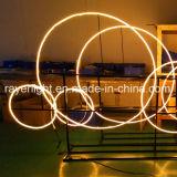 Nova iluminação de Natal decorações de luzes de sinal de néon de decoração