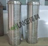 Chunke SS304 Sistema de filtro de cartucho de agua para la venta