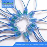 A cor sete Waterproof a iluminação da corda do diodo emissor de luz de 12mm