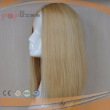 De blonde Pruik van het Kant van het Menselijke Haar Volledige Hete Verkopende (pPG-l-0108)