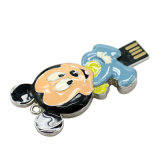 Vara 2GB da memória da movimentação do flash do USB do metal Mickey e do Minnie