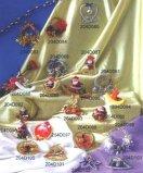 Navidad Ornaments-Ring colgantes forma, la forma de campana, Etc. (204D083-204D103)