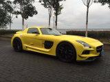 Camaro amarillo en forma de pera Vechile Moto decoración enrollar la película de PVC