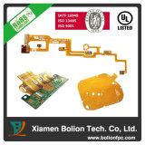 Гибкое изготовление PCB, твердая монтажная плата гибкого трубопровода, ISO13485, Ts Iatf 16949