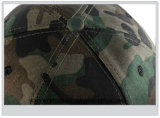カスタム綿の平らな縁のCamoのブランク急な回復の帽子