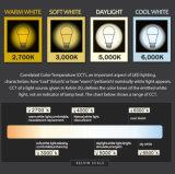 도매 공장 A70 16W 18W 알루미늄 플라스틱 주거 LED 전구