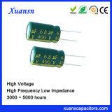 De hete Hoge Frequentie van de Condensator van de Verkoop 6.8UF 400V Elektrolytische