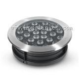 Vertieftes DMX 24W LED Tiefbaulicht des Farben-änderndes Swimmingpool-