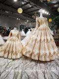 3/4 Hülsen-Brautkleid-Spitzesequins-kundenspezifisches Hochzeits-Kleid 2018 A1234