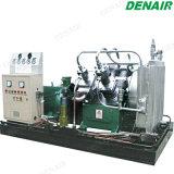 Diésel eléctrico/compresor de aire de pistón de alta presión de la máquina para perforación del tubo de la bobina