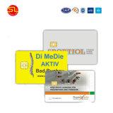 Cartões RFID de plástico de PVC para controle de acesso de identificação