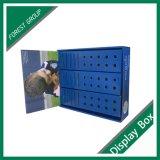 Blauer Schaukarton mit Einlage für Verschiffen
