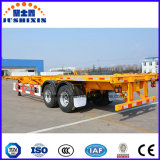 China 40FT dois do eixo 45t do recipiente reboque de esqueleto Semi para a promoção