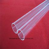 La pureza del tubo de vidrio de cuarzo transparente para el calentador