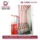 Systeem van Supression van de Brand van het Gas van het Brandblusapparaat van de luchthaven Het Ig541 Gemengde