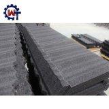 Piedra de tamaño estándar de hierro galvanizado recubierto de hoja de techo