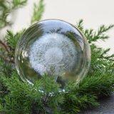 Superventas 2017 láser 3D personalizadas bola de cristal para la decoración de navidad