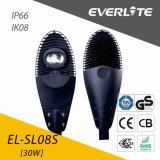 Réverbère de l'ÉPI DEL d'Everlite 30W IP66 Ik08